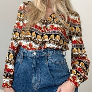 VINTAGE MAGGY LONDON top